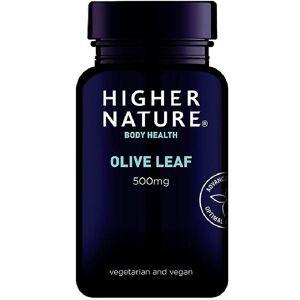 Higher Nature Høyere natur olivenblad 500mg vegetariske kapsler 90 (OLE090)