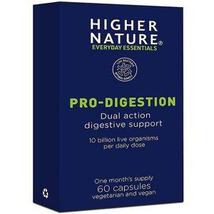 Higher Nature Høyere natur Pro-fordøyelse Vegicaps 60 (PBG060)