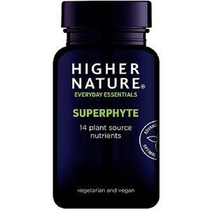 Higher Nature Høyere natur SuperPhyte vegetabilske kapsler 90 (SPH090)