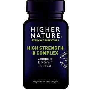 Higher Nature Høyere natur høy styrke B komplekse caps 30 (BCC030)
