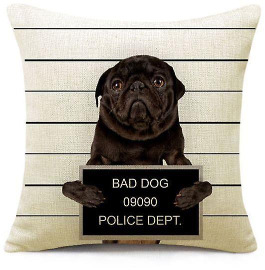 Superstudio Wellindal Cushion Cover Bad Dog (Decoration , Cushions)
