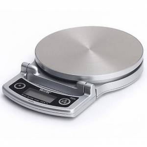 Tanita Kompakt Digital Lithium kjøkken skala 5KG - Silver (KD-400)
