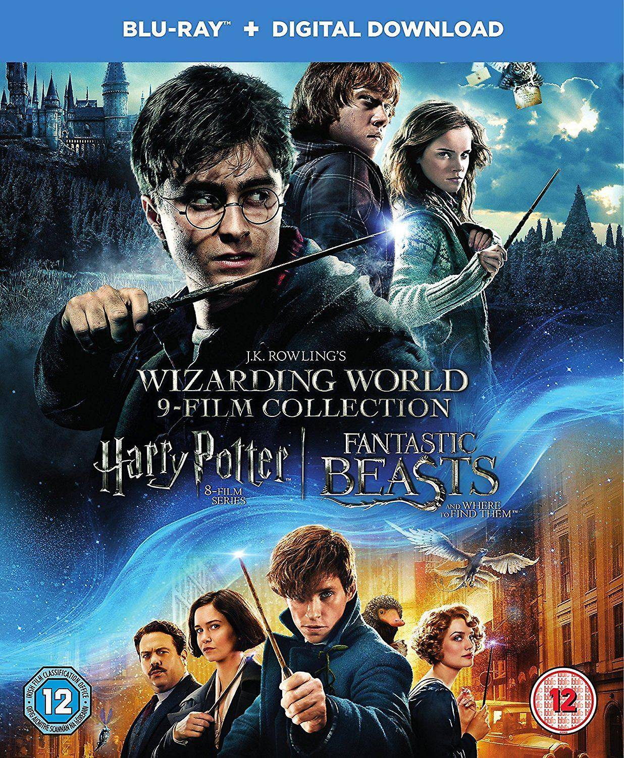 Warner Home Video Harry Potter trollmannssamfunnet verden 9 Film Collection [Blu-ray]...