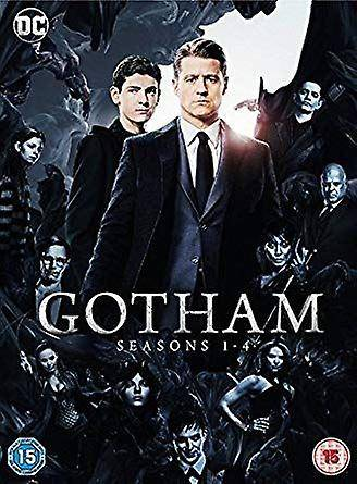 DC Comics GOTHAM årstider 1-4 DVD Box Set