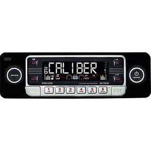 Caliber Audio Technology Kaliber lyd teknologi RCD-110 Schwarz bil stereoplaten retrodesign