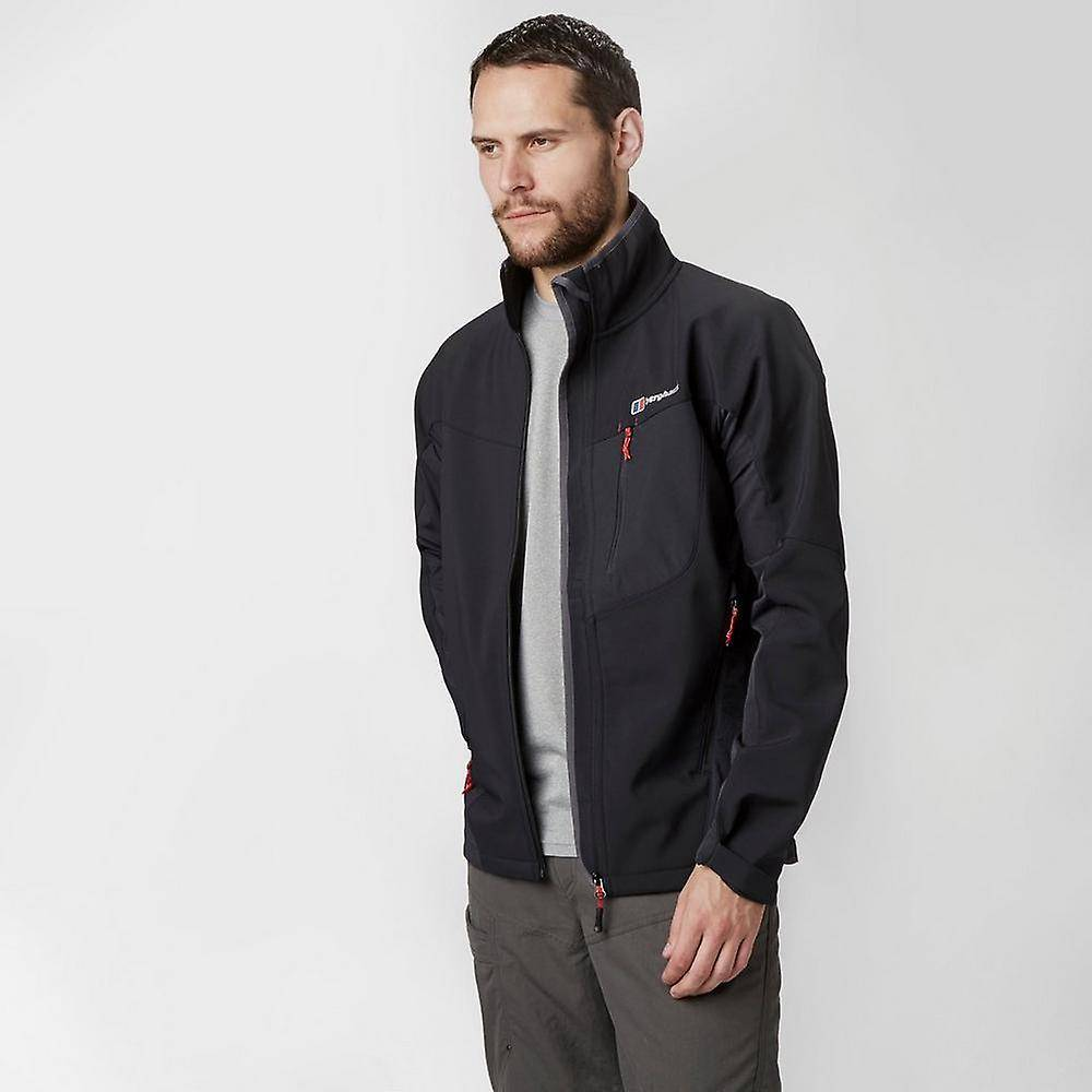 Berghaus Ny Berghaus menns Ghlas softshell jakke klær svart