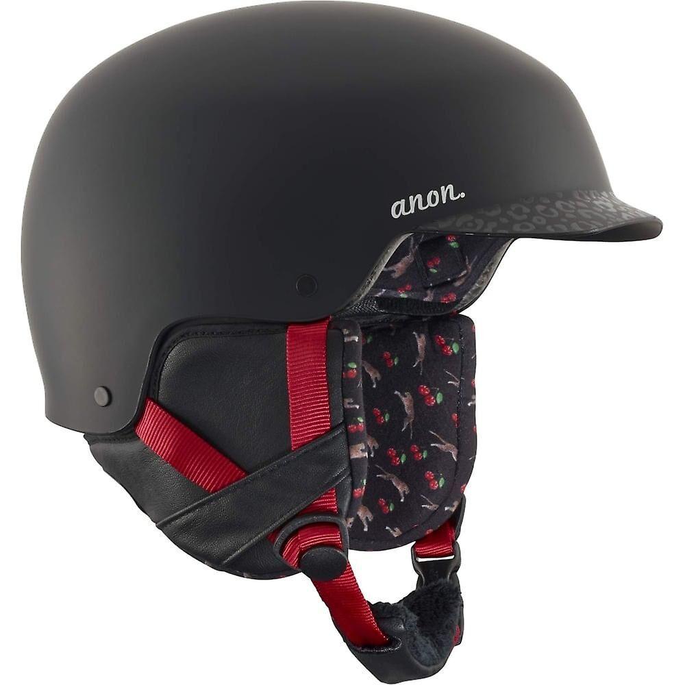 Anon Aera Helmet - Black/Cherry Black/red L
