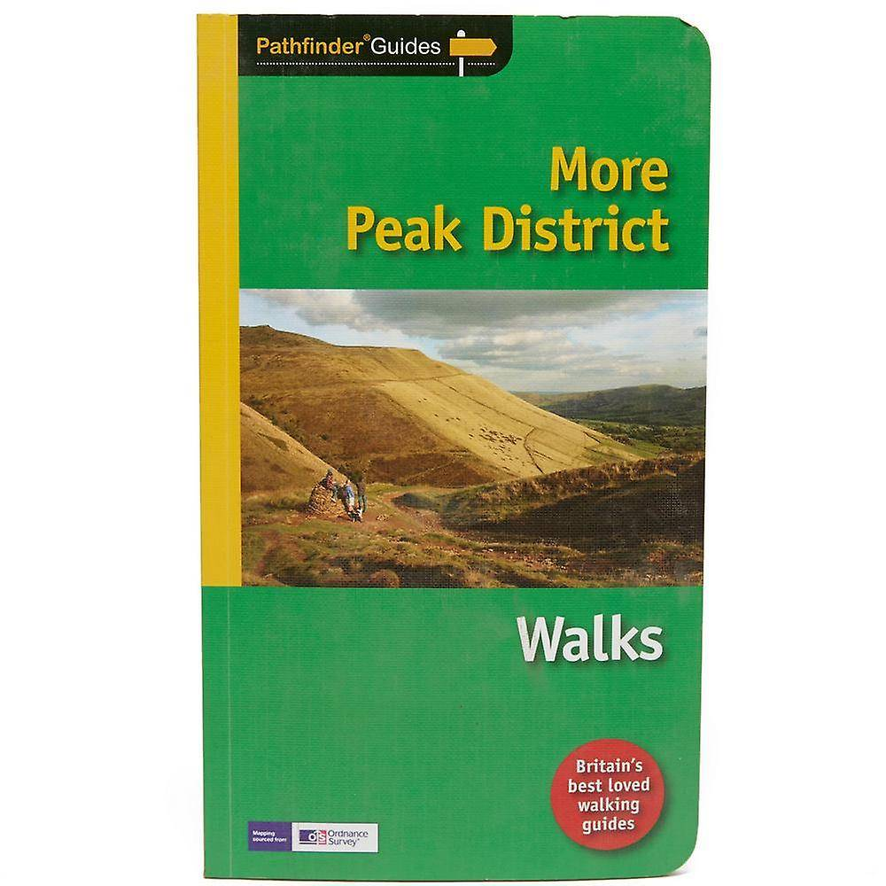 New Pathfinder More Peak District Walks Guide Green One Size