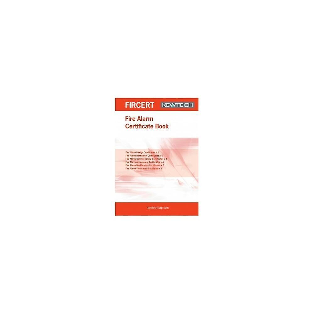 Kewtech Fire Alarm Certification Book
