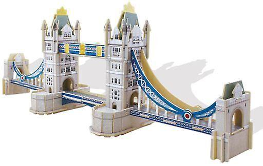 Educa 3D Monument Tower Bridge (babyer og barn, leker, brettspill)