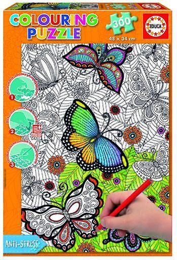 Educa Mandala coloring puzzle 300 stykker alle god 34 x 48 cm