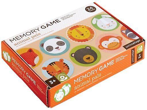 Petit Collage dyr venner minnespill (babyer og barn, leker, brettsp...