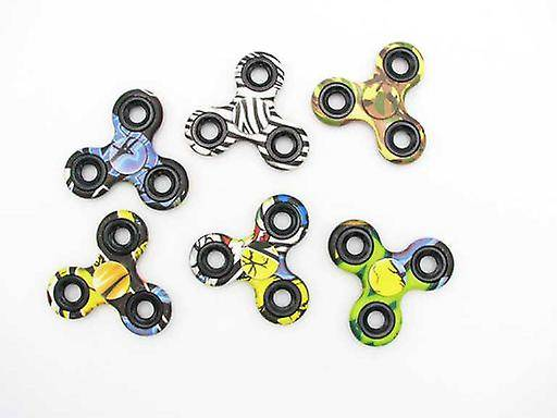 Import Fidget Spinner Body Deco Camouflage (Babies and Children , T...