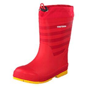 Tretorn Gränna Vinter Red 51, Shoes, rød, EU 34