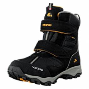 Viking Bluster II GTX Black/Grey, Shoes, svart, EU 34