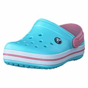 Crocs Crocband Clog K Ice Blue/white, Shoes, rosa, EU 24/25