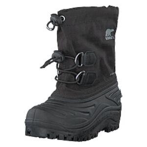 Sorel Children's Super Trooper Black Light Grey, Shoes, grå, EU 25