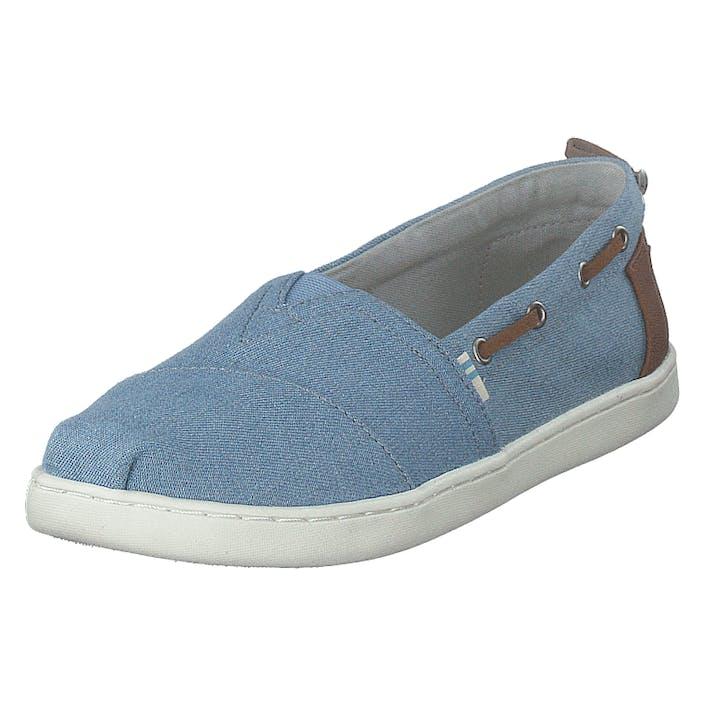 Toms Nvy Denm/syn Trim Yt Bimini Es Navy, Barn, Shoes, blå, EU 34