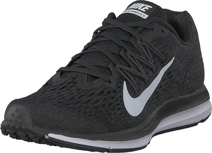Nike Air Zoom Winflo 5 Black/ White-anthracite, Sko, Sneakers & Sportsko, Sneakers, Grå, Svart, Dame, 39