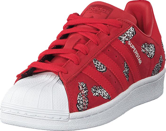 competitive price bdc2a 28b58 adidas Originals Superstar W Scarle scarle ftwwht, Sko, Sneakers   Sportsko,