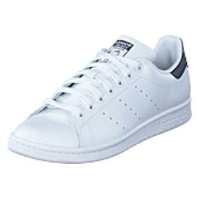 adidas Originals Stan Smith Running White/New Navy, Shoes, hvit, UK 4