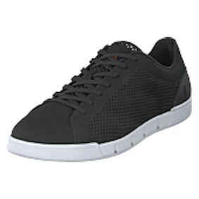 Swims Breeze Tennis Knit Black / White, Shoes, svart, EU 42