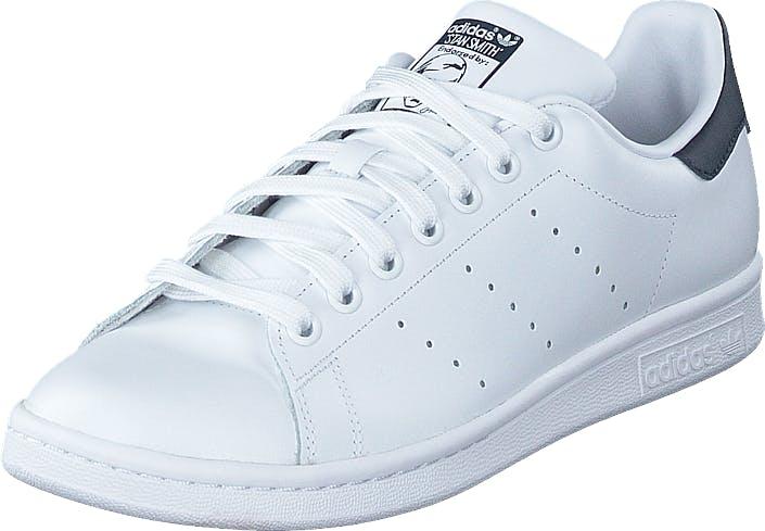 adidas Originals Stan Smith Running White/New Navy, Sko, Sneakers & Sportsko, Lave Sneakers, Hvit, Unisex, 44