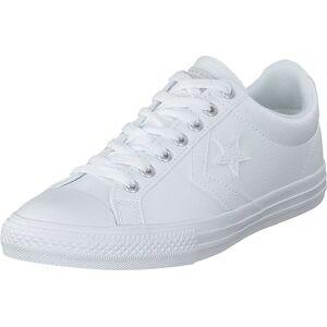 Converse Star Player Ev White/white/white, Sko, Sneakers og Treningssko, Lave Sneakers, Hvit, Unisex, 35