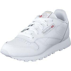 Reebok Classic Classic Leather White, Sko, Sneakers og Treningssko, Sneakers, Hvit, Barn, 34