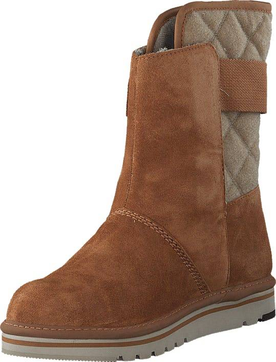 Sorel Newbie 287 Elk, Sko, Boots, Høye boots, Brun, Dame, 36