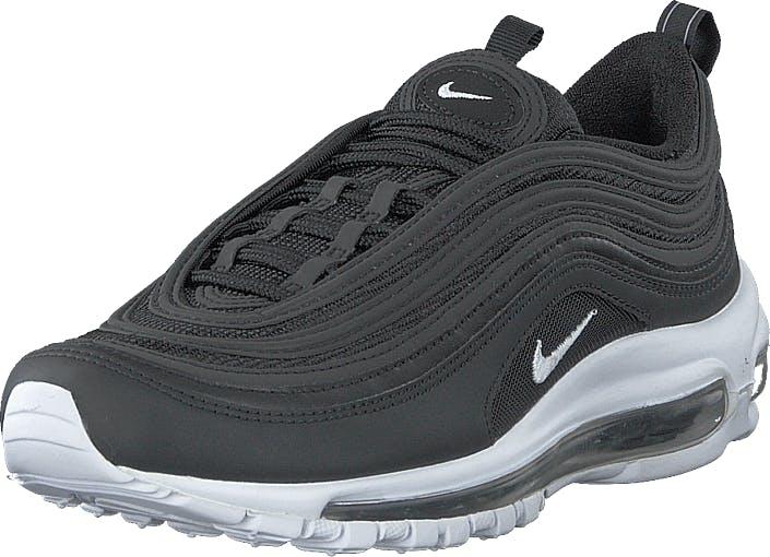 Nike Air Max 97 Black/white, Sko, Sneakers & Sportsko, Løpesko, Grå, Herre, 43