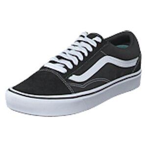 Vans Ua Comfycush Old Skool (classic) Black/true White, Shoes, svart, EU 41