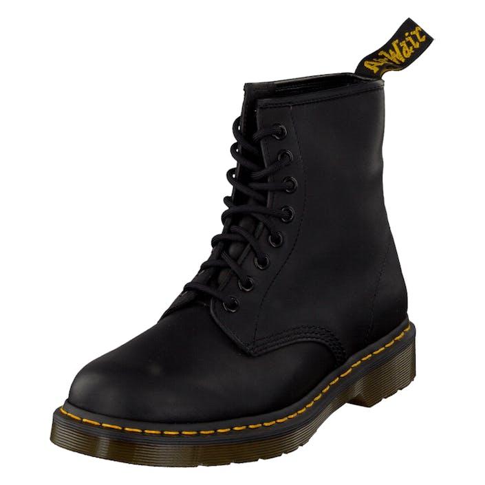 Dr Martens 1460 Black Greasy, Sko, Chelsea boots, Svart, EU 44