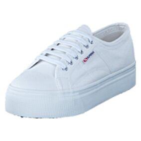 Superga Lady 2790-Cotw Linea and Down 901 white, Shoes, hvit, EU 39