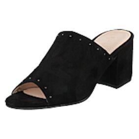 Bianco Suede Mule Sandal Jfm17 110 - Black 10, Shoes, svart, EU 37