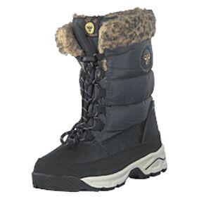 Hummel Snow Boot Jr Asphalt, Shoes, grå, EU 27