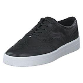 Clarks Hero Brogue Black Leather, Shoes, svart, EU 37,5
