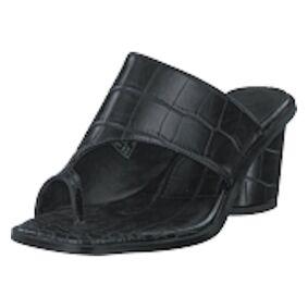 NA-KD Toe Ring Mules Black, Shoes, svart, EU 38