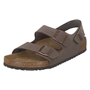 Birkenstock Milano Regular Birko-flor Mocca Brown, Shoes, brun, EU 38