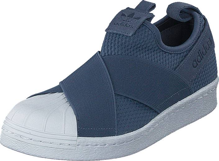 official photos fb5cc 18157 adidas Originals Superstar Slipon W Raw Steel S18 Ftwr White, Sko, Sneakers