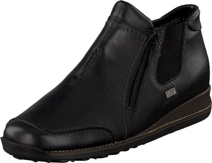 Rieker 44270-01 Black, Sko, Boots, Chukka boots, Svart, Dame, 37