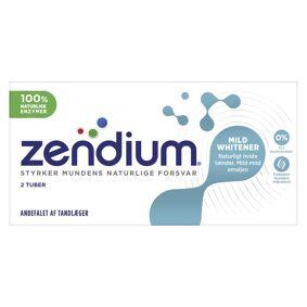 Zendium Mild Whitener 2-pakning Tannkrem 2 x 50 ml Tannkrem