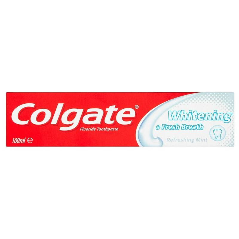 Colgate Whitening & Fresh Breath 100 ml Tannkrem
