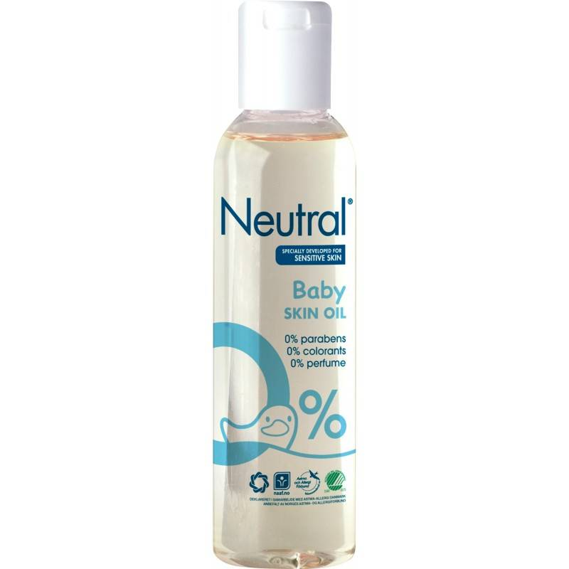 Neutral Baby Olie 150 ml Kroppsolje