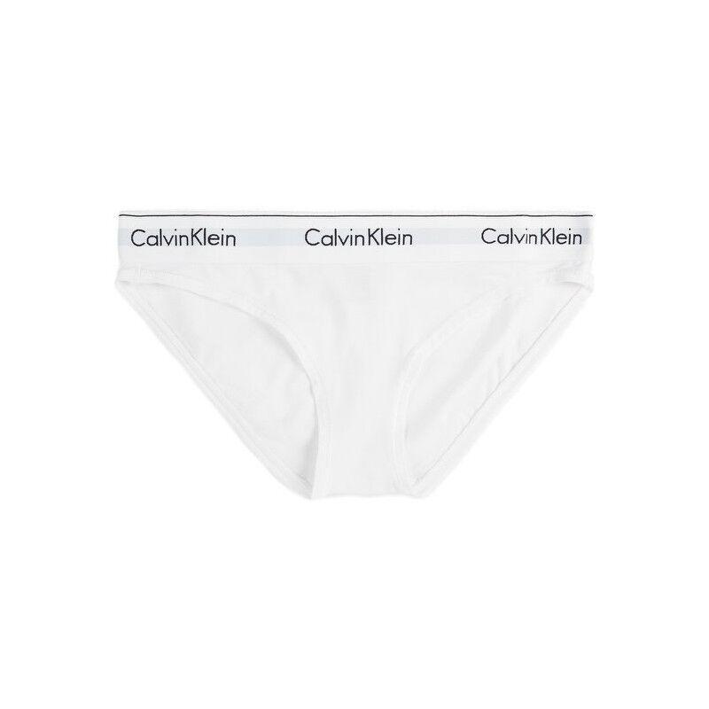 Calvin F3787E Modern Cotton Truser White XSmall Undertøy