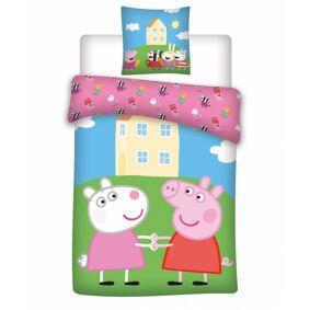 Peppa Pig Junior Bed Linen Peppa Pig 100 cm x 140 cm + 40 cm x 45 cm Sengetøy