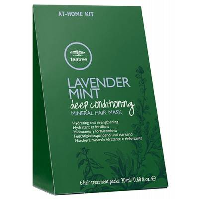 Paul Mitchell Tea Tree Lavender Mint Mineral Hair Mask 6 x 20 ml