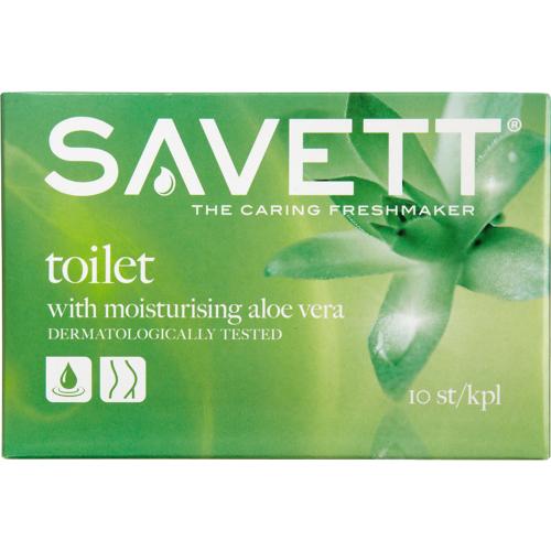 Savett Toilet Wet Wipes 10 stk V...