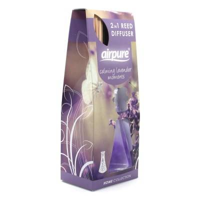 Airpure Reed Diffuser Home Collection Calming Lavender Moments 30 ml