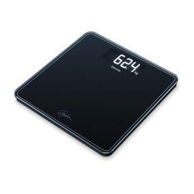 Beurer GS400 Glass Bathroom Scale Black 1 stk Badevekt
